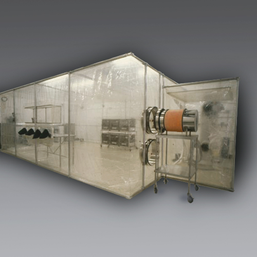 CBC flexible film cleanrooms.