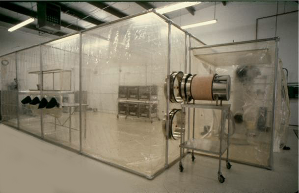 Flexible film cleanrooms.