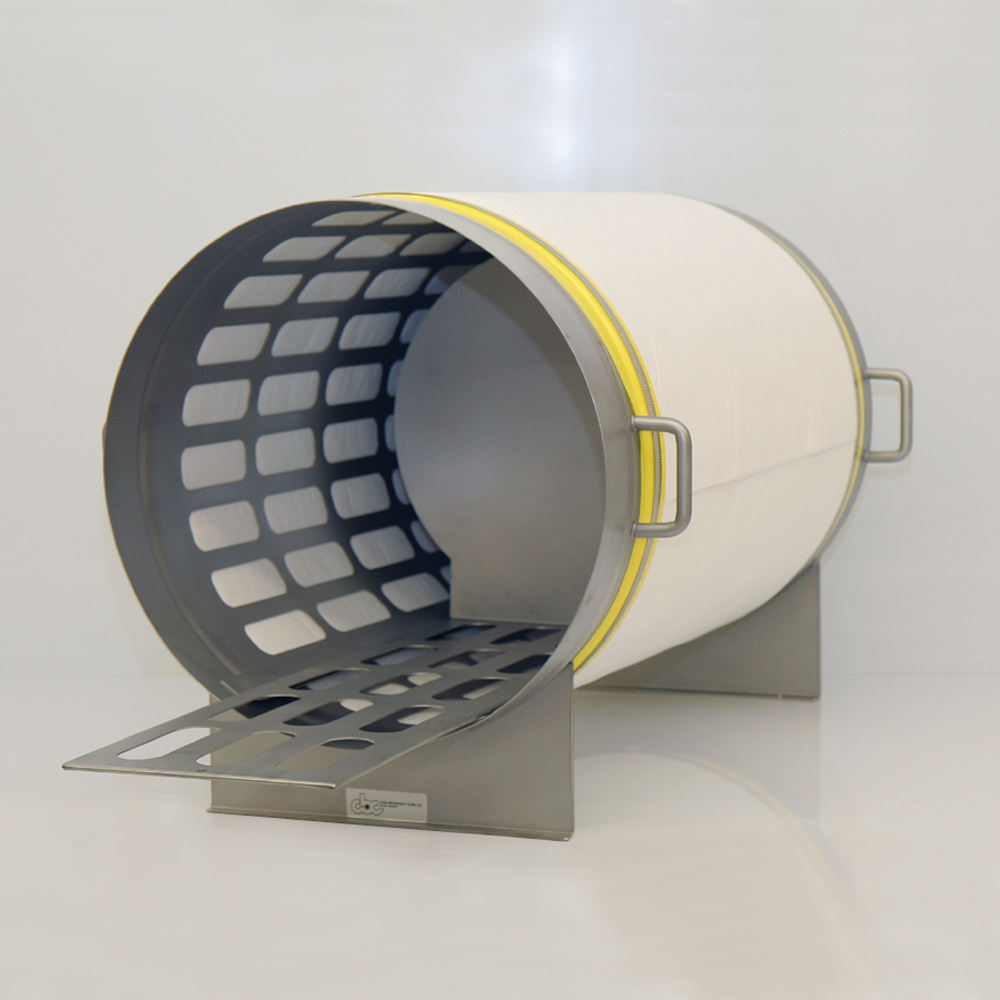 Autoclave sterlizing cylinder for gnotobiotic research.