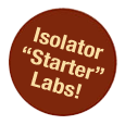 CBC gnotobiotic isolator starter lab.